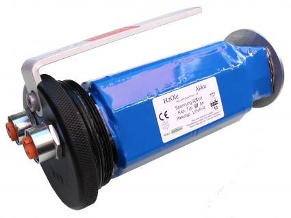12, 8 Volt / 12V Li-Ion Akku (LiFePo4) mit einer Kapazität von 10AH für Longli...