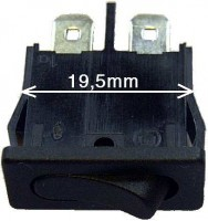 Miniaturkippschalter, ideal für den PKW - Einbau