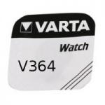 Varta V364, SR60, SR621SW Knopfzelle für Uhren etc...