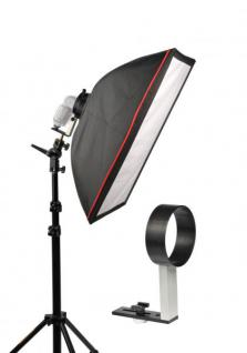 flash2softbox Set XL mit Softbox