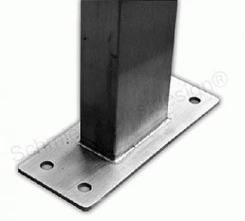 6er Edelstahl Stand Briefkasten Premiumanlage - Vorschau 2