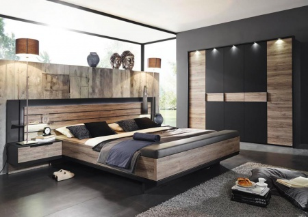 schlafzimmer schwarz online bestellen bei yatego. Black Bedroom Furniture Sets. Home Design Ideas