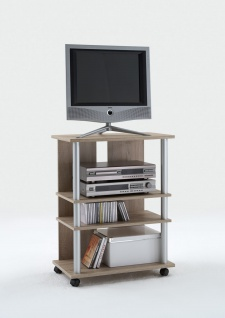 Tv-/Hifi-Regal in Eiche-Nachbildung