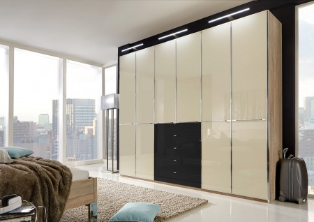 schwarz kleiderschrank online bestellen bei yatego. Black Bedroom Furniture Sets. Home Design Ideas