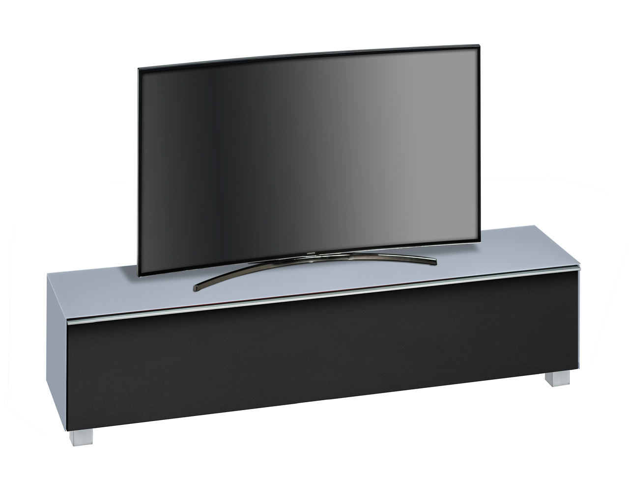 tv lowboard tv board glas himmelblau kaufen bei. Black Bedroom Furniture Sets. Home Design Ideas