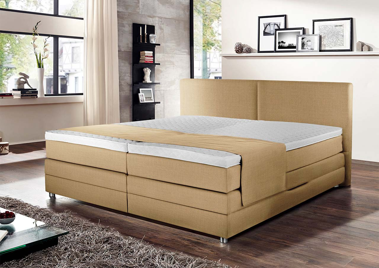 Exquisite Boxspringbett Verstellbar Collection Of Beige, Elektrisch