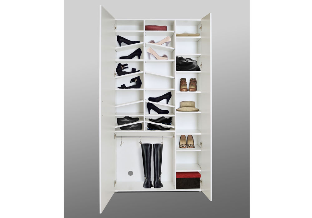 schuhschrank hochglanz wei spiegel kaufen bei lifestyle4living m belvertrieb gmbh co kg. Black Bedroom Furniture Sets. Home Design Ideas