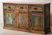 Sideboard Altholz bunt