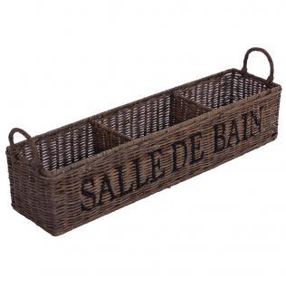 "Aufbewahrungsbox ""Salle de Bain"""