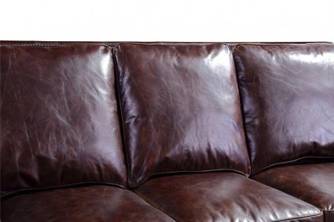 Ledergarnitur Wexford 3-Sitzer, 2-Sitzer und Sessel 3+2+1 - Vorschau 4