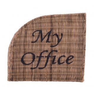Aktenablage My Office 4 Fächer Aktenhalter Dokumentenablage Büroablage Bürohelfer Rattan - Vorschau 2