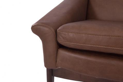 Lehnsessel Seacroft Chocolate Brown Ledersessel Echtleder Loungesessel Leder Sessel - Vorschau 5
