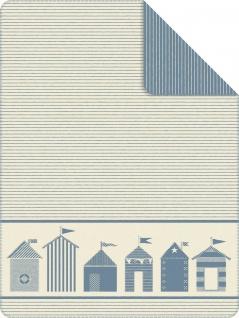 Ibena Strandkorb Kuscheldecke 3910-600 Decke Strandkorbdecke Wohndecke Gartendecke