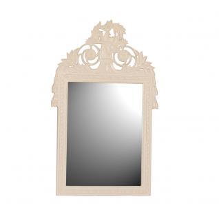Wandspiegel / Spiegel Mask weiß Landhaus Diele Standspiegel
