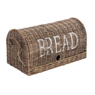 Brotbox Bread Rattankorb Brotkorb Aufbewahrung Naturrattan