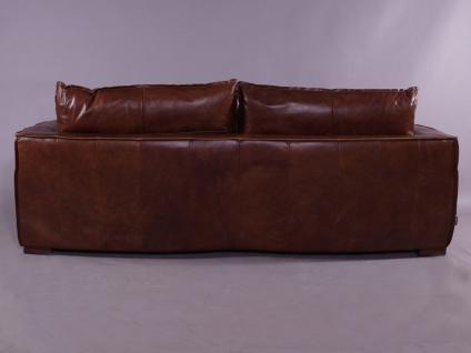 Clubsofa Burlington 2, 5-Sitzer Montaigne Brown Vintage Leder - Vorschau 4