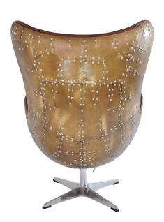 Drehsessel Cobham Montaigne Brown Vintage Leder - Vorschau 4