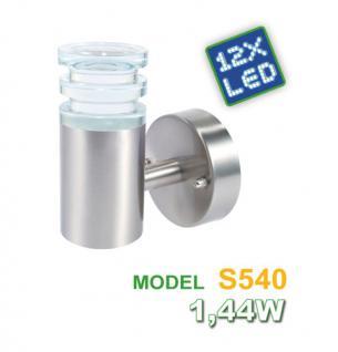 LED Aussen-Wandleuchte Diffusor Effektleuchte Wandlampe Lampe Stahl Wandlampe - Vorschau 3