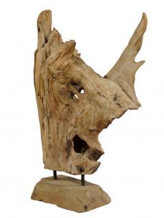 "Wohndekoration Teakholz Skulptur ""Teakwurzel"""