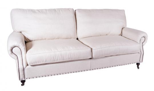 Classic Sofa Oxford 2 Sitzer Vintage Leinen Kaufen Bei Mehl Wohnideen