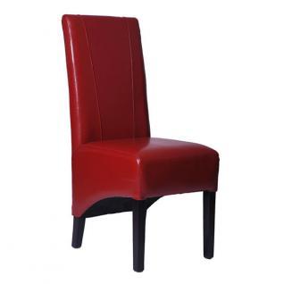 Esszimmerstuhl Stuhl Klassik rot - Vorschau 1