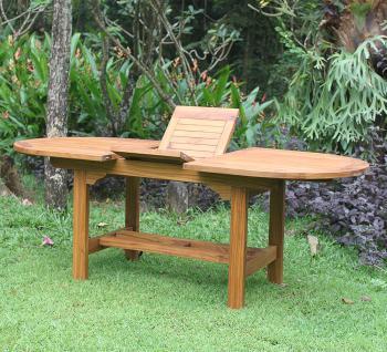 Gartentisch Korsika 160 cm Teakholz Tisch Holztisch Teak - Vorschau 3