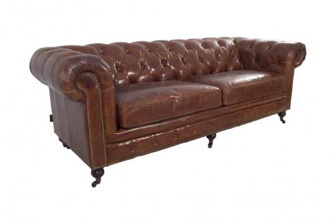Chesterfield-Sofa 3-Sitzer