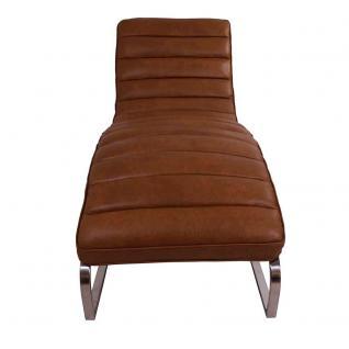 Relax-Liege Corona Columbia Brown Vintage Leder - Vorschau 3