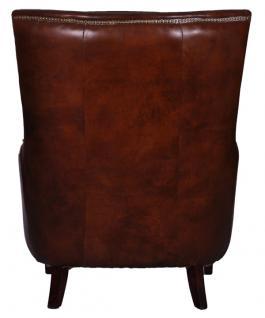 Lehnsessel Lewes Vintage Leder - Vorschau 3