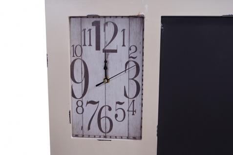 Memoboard Kolding Wandorganizer Uhr Tafel Garderobe Landhaus - Vorschau 5