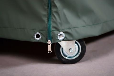ProtecTeak Abdeckhaube Schutzhülle Single-Strandkorb grün 1-Sitzer Ganzjahreshaube - Vorschau 3