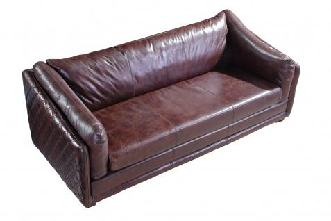 Ledergarnitur Oldham 3-Sitzer, 2-Sitzer und Sessel 3+2+1 - Vorschau 4