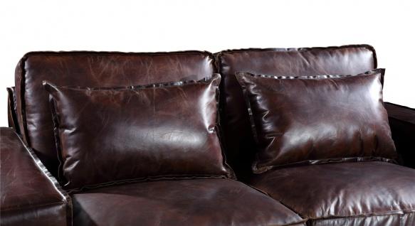 Loungesofa Hamilton 2-Sitzer Vintage-Leder - Vorschau 5
