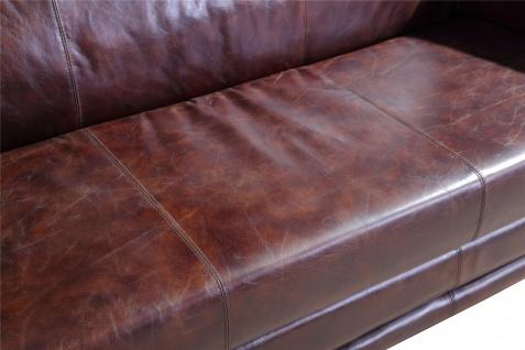 Ledergarnitur Oldham 3-Sitzer, 2-Sitzer und Sessel 3+2+1 - Vorschau 3