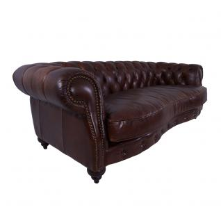 Castlefield Sofa 3-Sitzer Vintage Cigar Chesterfield-Stil