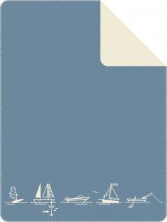 Ibena Strandkorb Kuscheldecke 3917-600 Decke Strandkorbdecke Wohndecke Gartendecke