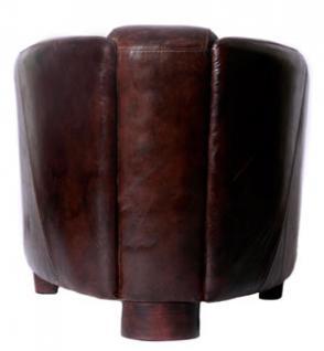 Clubsessel Rocket Vintage Leder - Vorschau 2