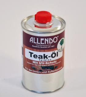 Allendo Teak-Öl, farblos 500 ml