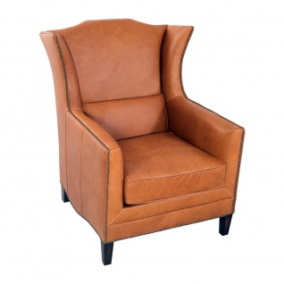 Ohrensessel Syston Columbia Brown