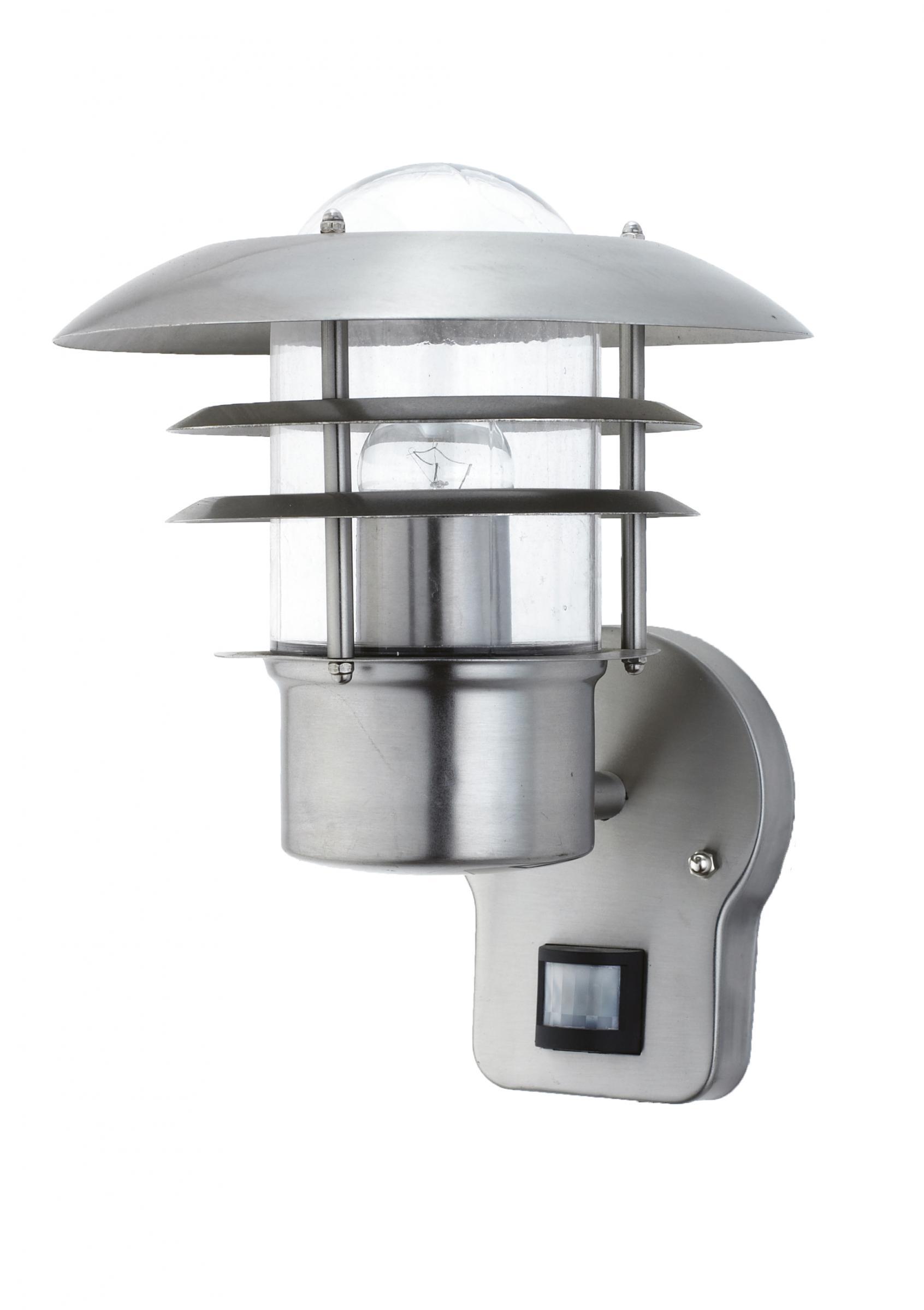 wandlampe au enleuchte au enlampe saturn bewegungsmelder edelstahl ip44 led geeignet wandleuchte. Black Bedroom Furniture Sets. Home Design Ideas