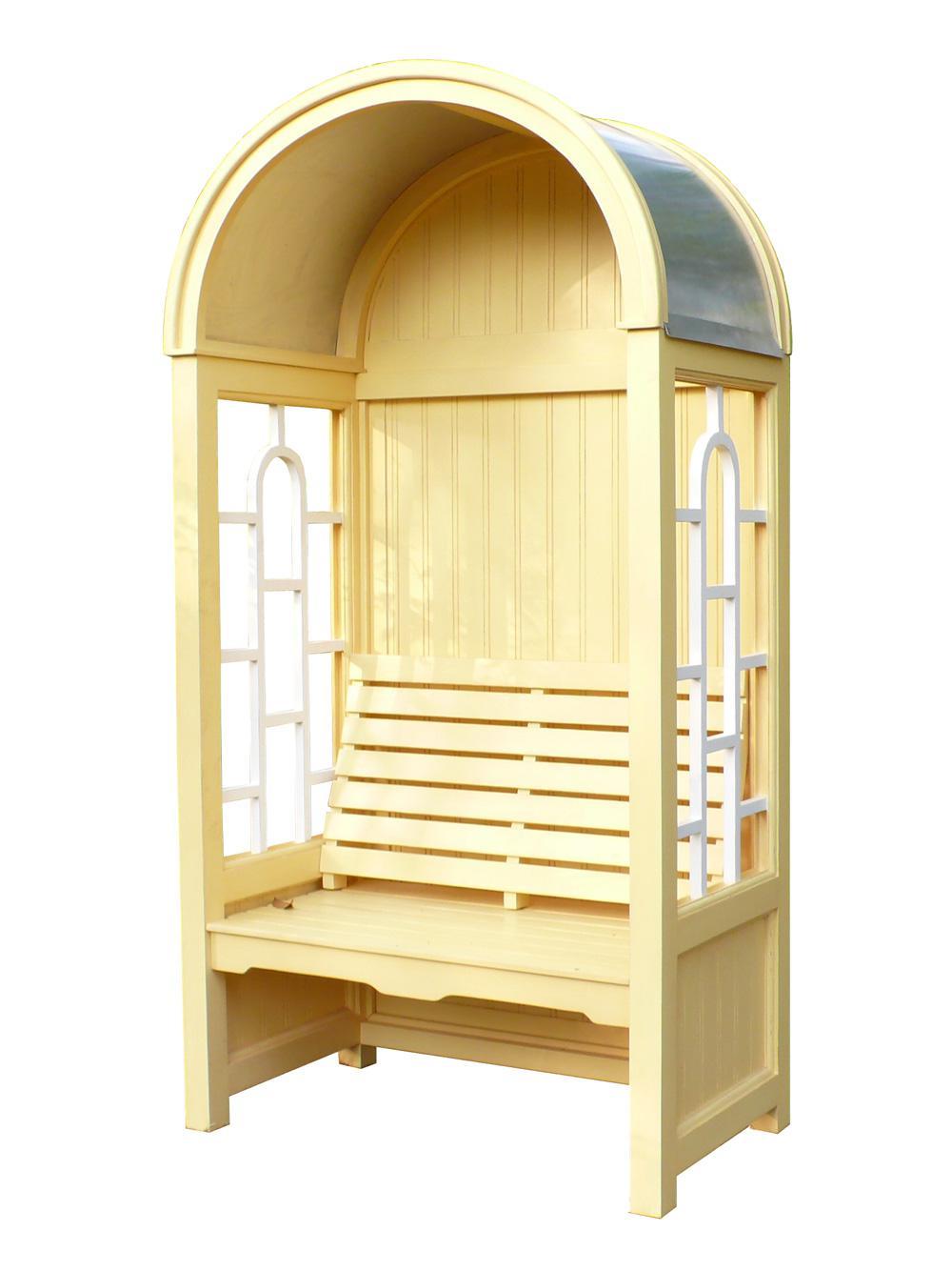 laubenbank romantik philosophenbank mahagoni holz. Black Bedroom Furniture Sets. Home Design Ideas
