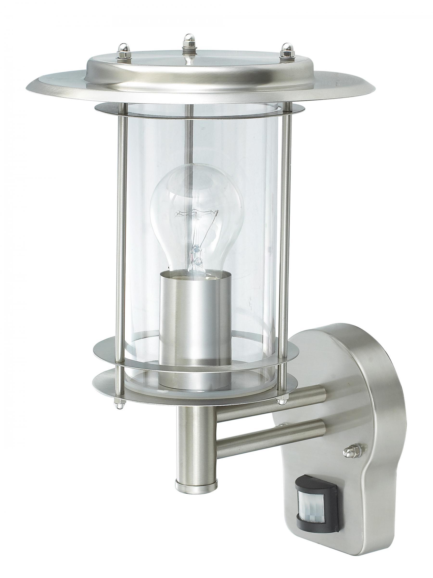 wandlampe au enleuchte au enlampe neptun bewegungsmelder edelstahl ip44 led geeignet wandleuchte. Black Bedroom Furniture Sets. Home Design Ideas