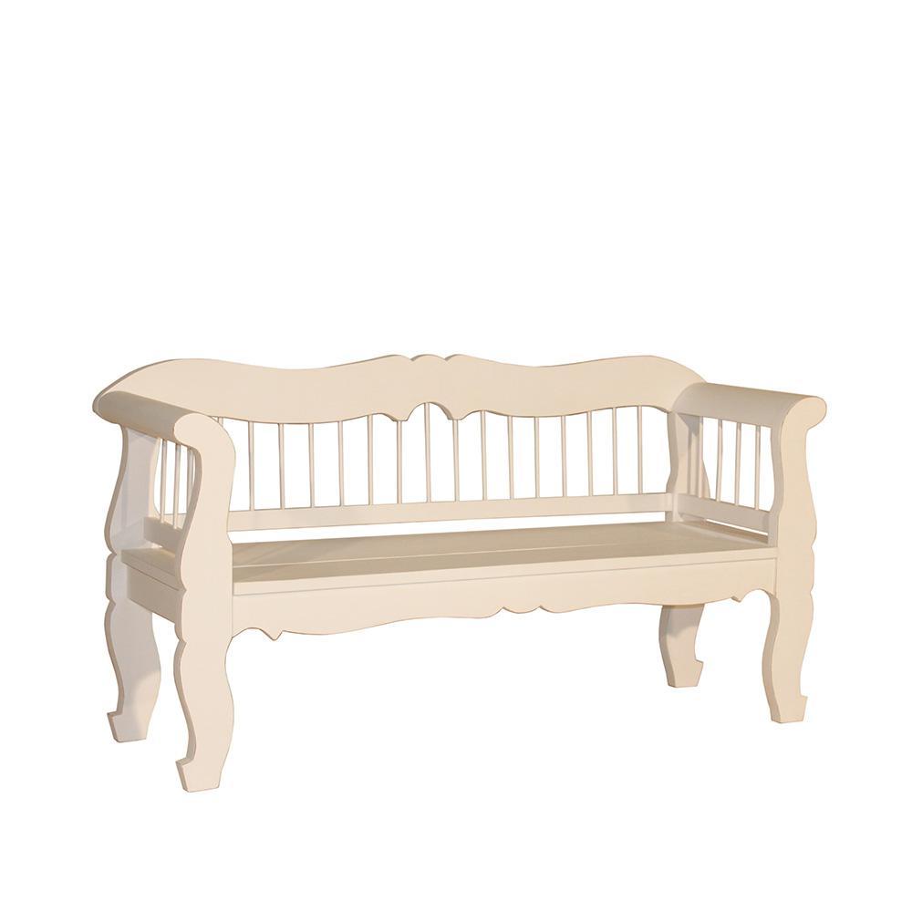 bank tira landhausm bel stilm bel k chenbank holzbank wei kaufen bei mehl wohnideen. Black Bedroom Furniture Sets. Home Design Ideas
