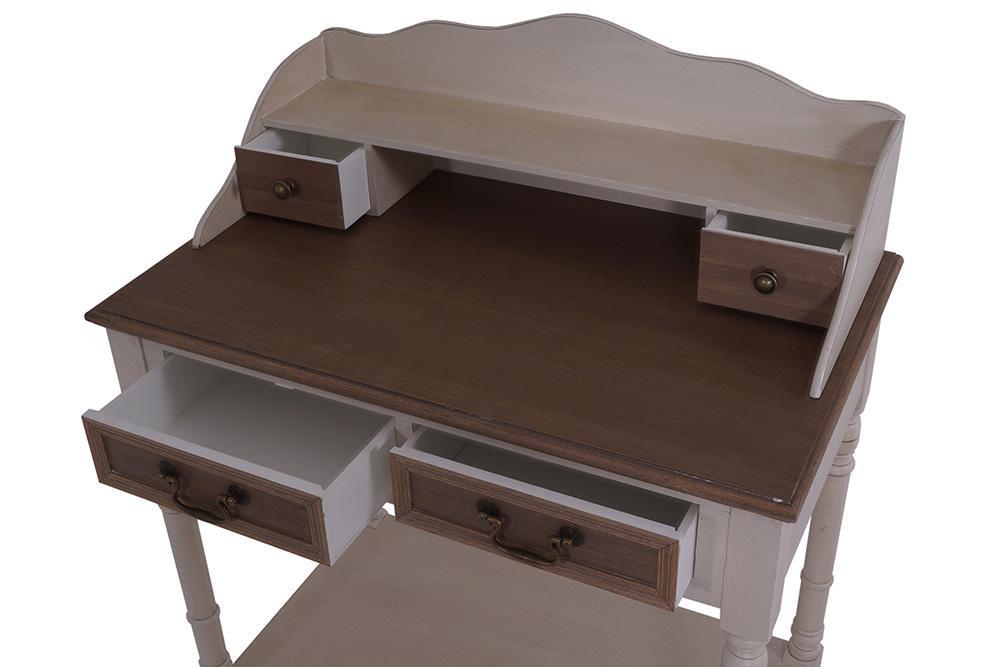sekret r provence landhaus stil 4 schubladen holz vintage look creme wei kaufen bei mehl. Black Bedroom Furniture Sets. Home Design Ideas
