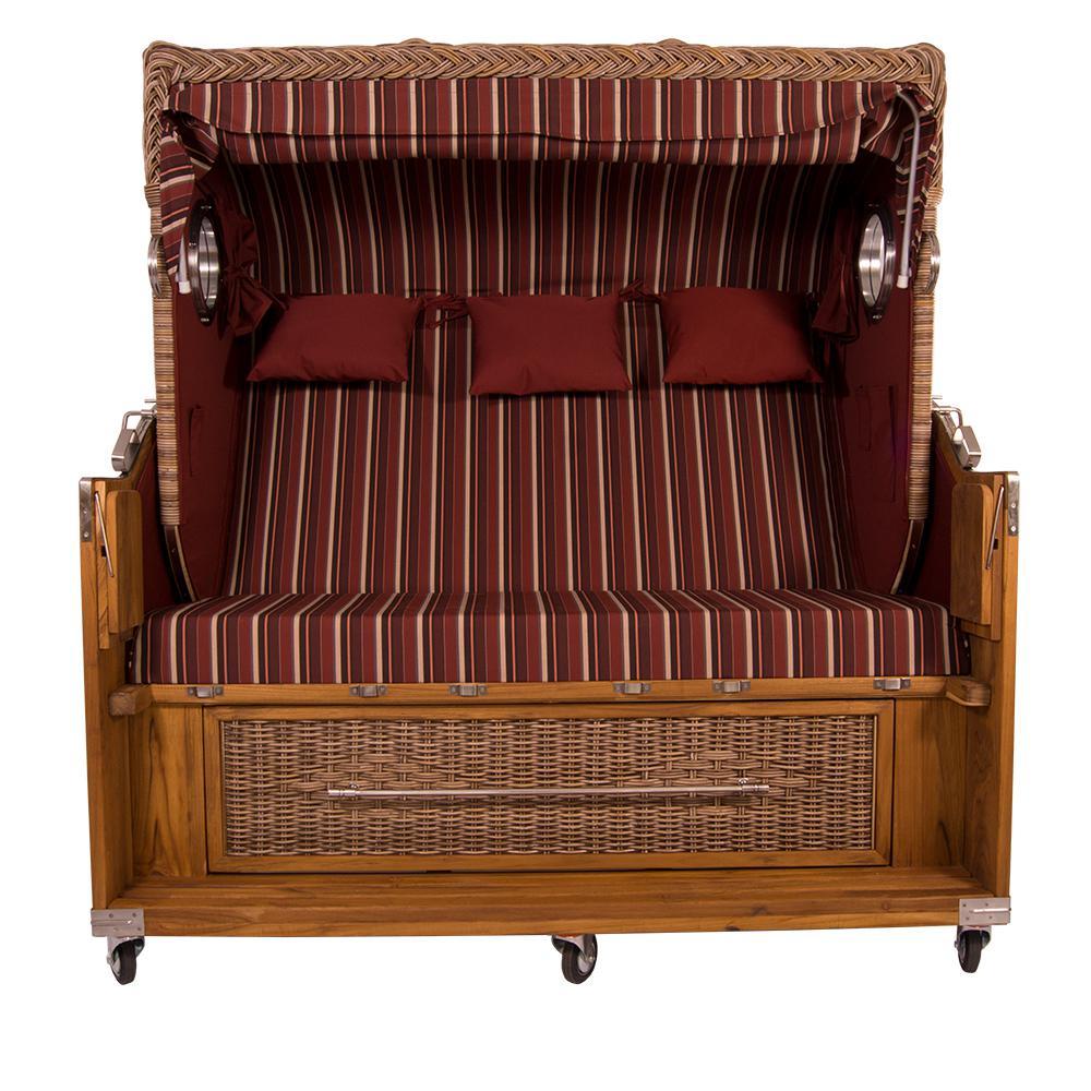strandkorb kampen spezial 3 sitzer banana polyrattan rattan gartenm bel bullaugen 57113 kaufen. Black Bedroom Furniture Sets. Home Design Ideas