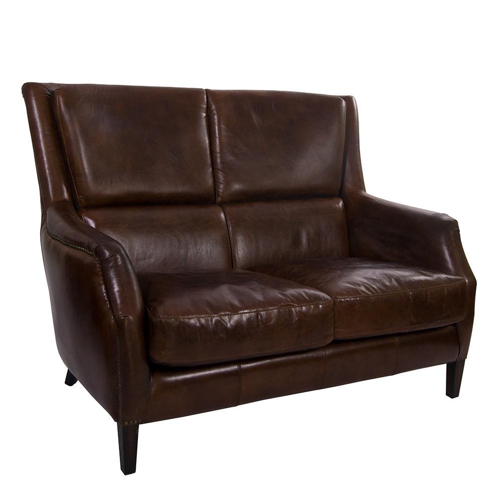clubsofa lewes 2 sitzer vintage cigar leder kaufen bei. Black Bedroom Furniture Sets. Home Design Ideas