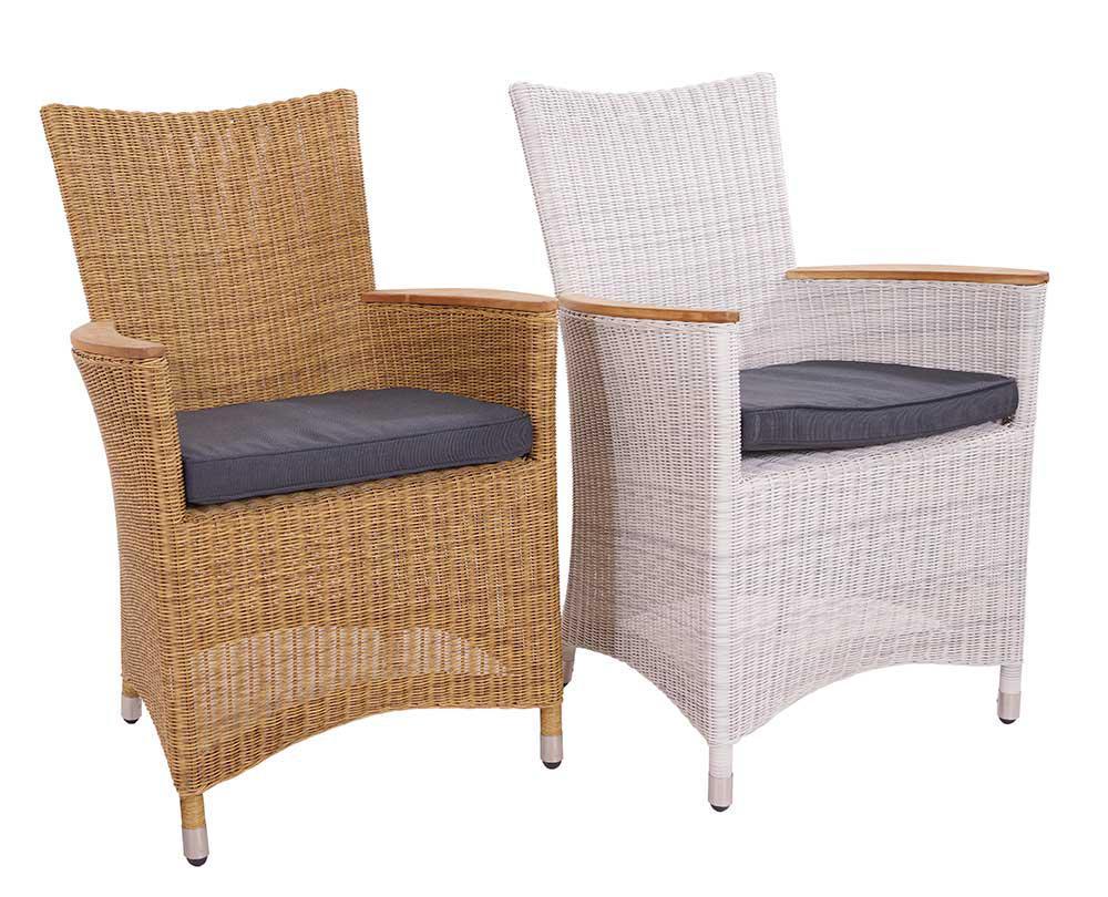 armlehnenstuhl chelsea nature geflecht armchair polyrattan. Black Bedroom Furniture Sets. Home Design Ideas