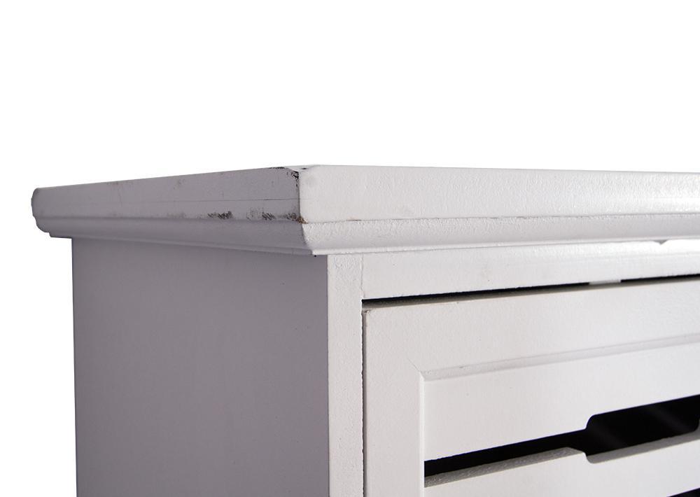 wandregal skagen landhaus stil 2 schubladen holz vintage look wei kaufen bei mehl wohnideen. Black Bedroom Furniture Sets. Home Design Ideas