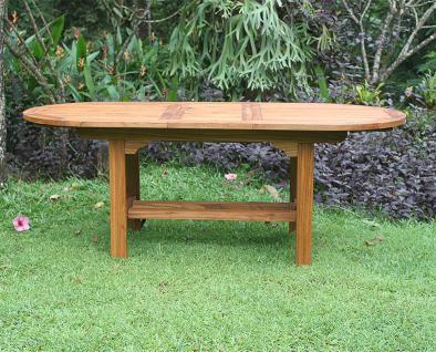 Gartentisch Korsika 160 cm Teakholz Tisch Holztisch Teak - Vorschau 2