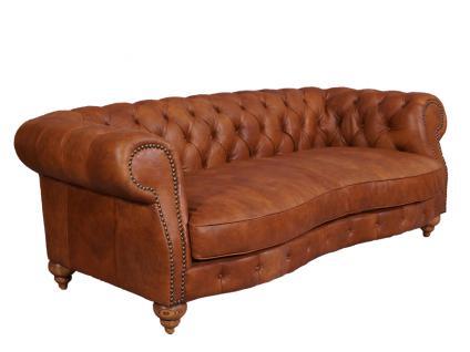 Castlefield Columbia Sofa 3-Sitzer Chesterfield-Stil